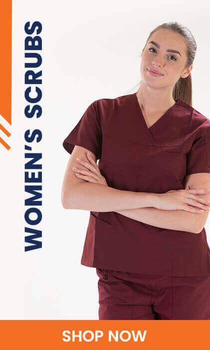 womans scrubs